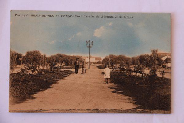 Novo Jardim da Avenida Júlio Graça - postal