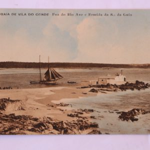 Foz do Rio Ave e Ermida da Senhora da Guia - postal
