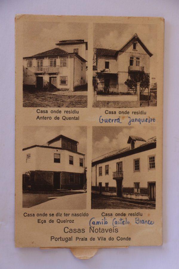 Casas Notáveis - postal de movimento