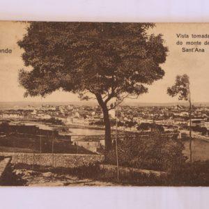 Vista tomada do Monte de Sant'Ana - postal de movimento