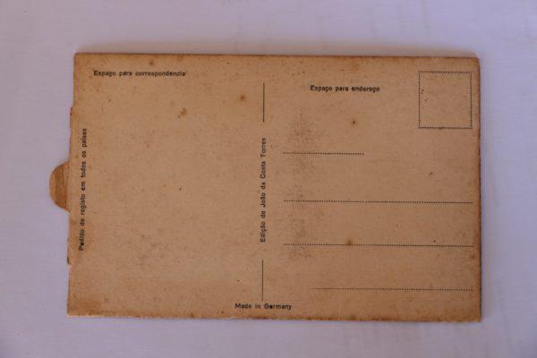 Vista tomada do Monte de Sant'Ana - postal de movimento - verso