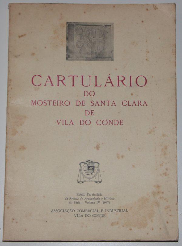 Cartulário do Mosteiro de Santa Clara de VIla do Conde - livro