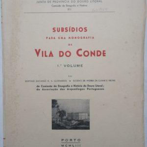Subsídios para uma Monografia de Vila do Conde