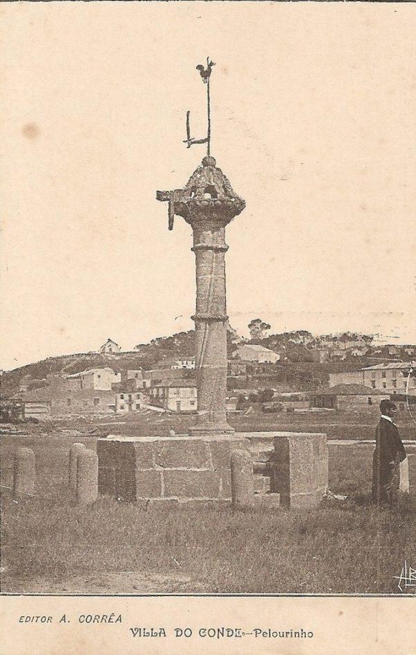 Villa do Conde - Pelourinho - postal