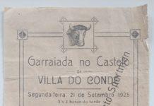 Garraiada no Castelo - panfleto