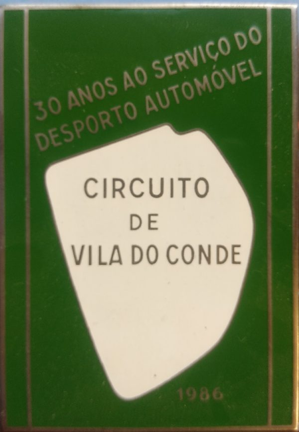 Placa Comemorativa dos 30 anos do Circuito de Vila do Conde