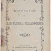 Estatutos do Club Fluvial Villacondense -1905