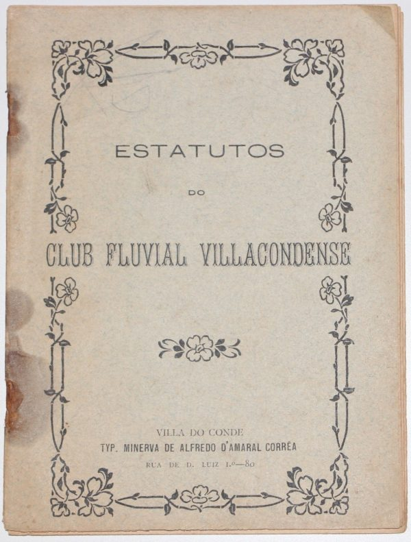 Estatutos do Club Fluvial Villacondense -1905