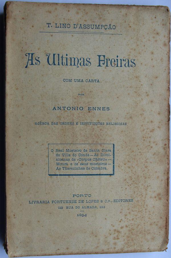 As Últimas Freiras - livro
