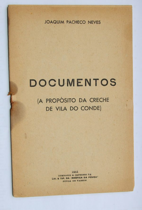 Documentos (A Propósito da Creche de Vila do Conde) - livro
