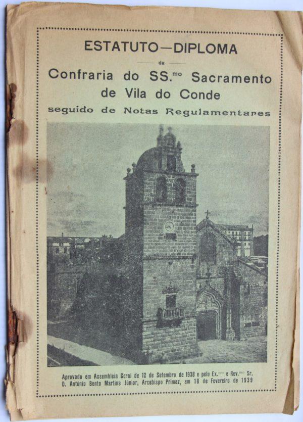 Estatuto-Diploma da Confraria do Ss. Sacramento de Vila do Conde