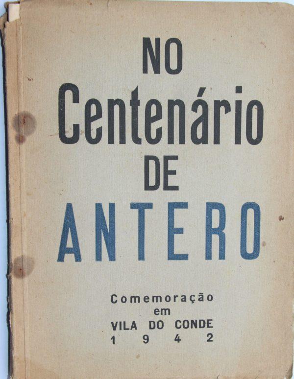 No Centenário de Antero