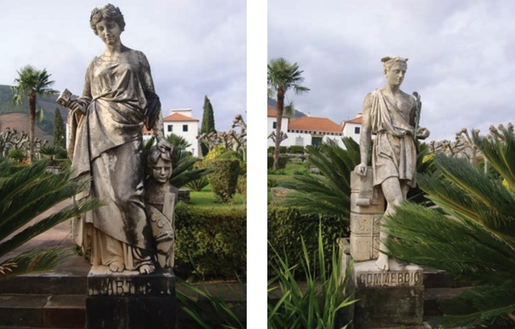 Esculturas Palacete Melo