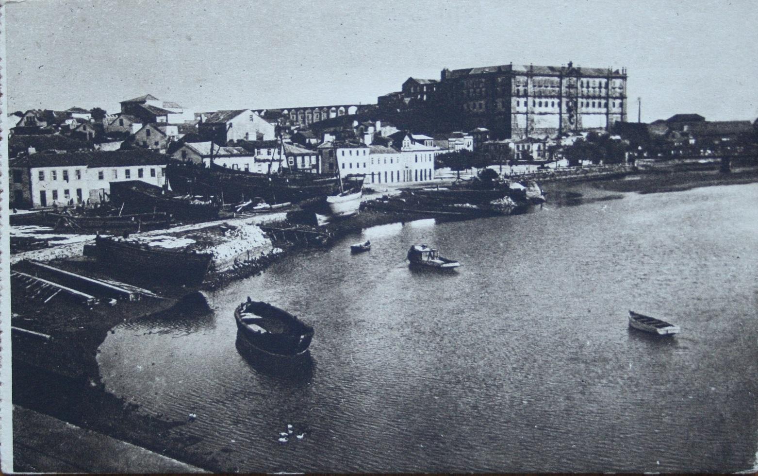 Os estaleiros em 1937