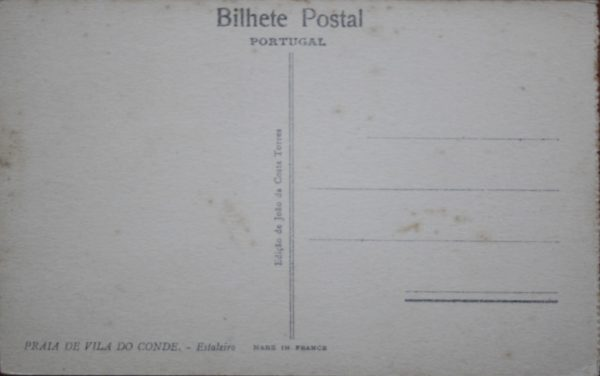Estaleiro - postal