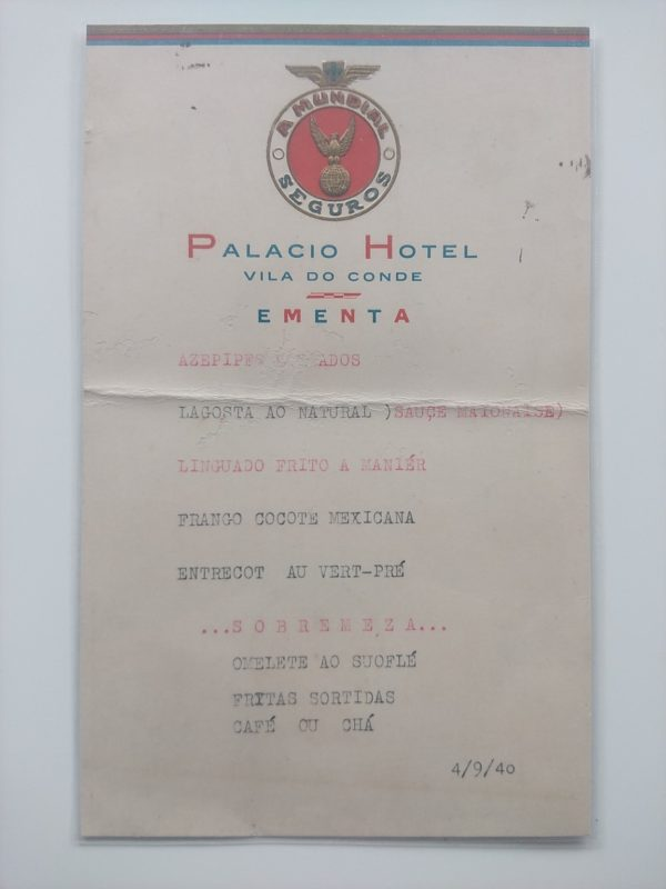 Ementa Palácio Hotel