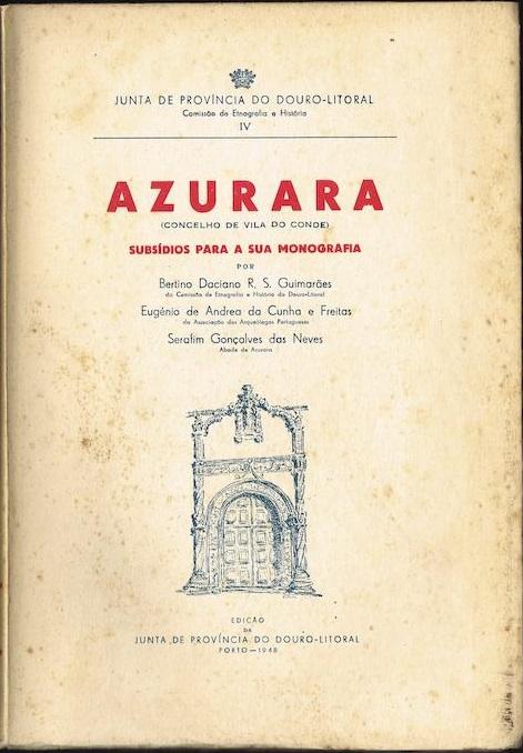 Azurara - Subsídios para a sua Monografia
