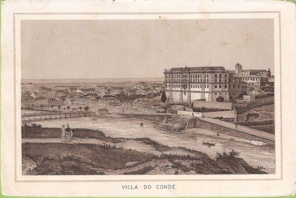 Villa do Conde - gravura