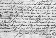 Registo de Casamento de Feliciano de Castilho