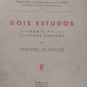 Armando de Mattos - Dois Estudos Manis Palla Giral Cabrom
