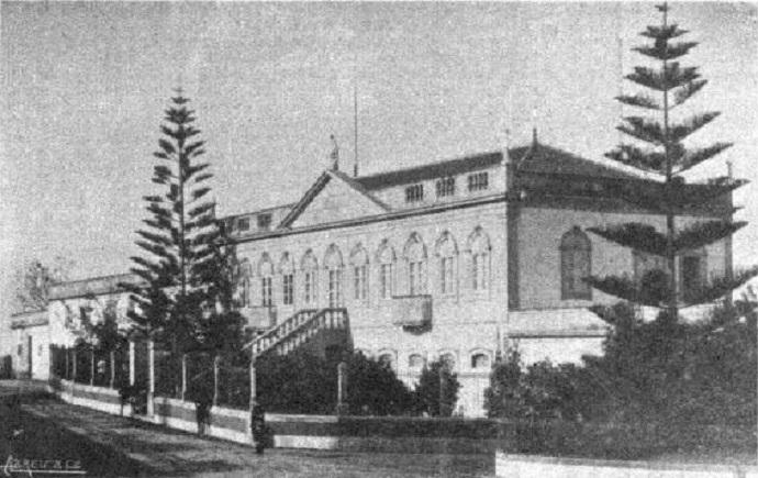 Palacete da Quinta de Crasto ou de São Bento - Vairão - 1910
