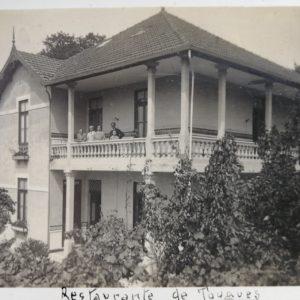 Restaurante de Tougues - convite - frente - 1920